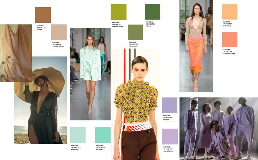 Fashion Trend Snack by Christine Boland: the top 5 colours for SS22